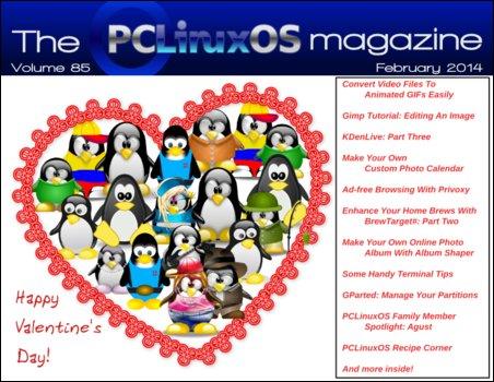 Περιοδικό PCLinuxOS Φεβρουάριος 2014