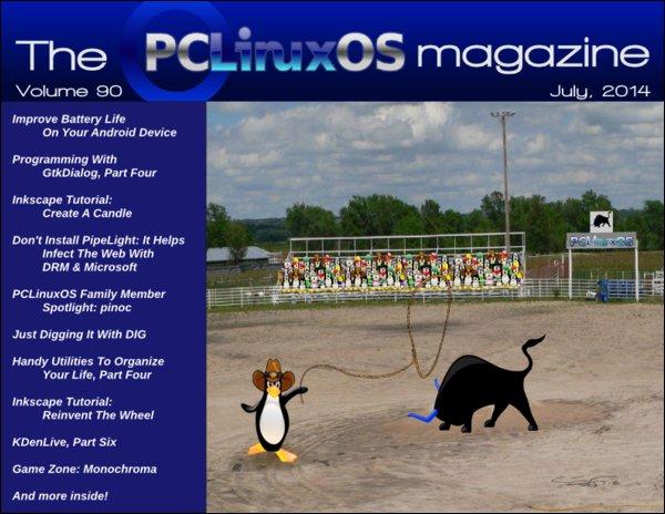 PCLinusOS Magazine - 2014. június - fedőlap