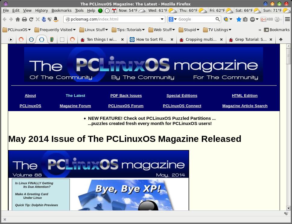 PCLinuxOS Magazine - Page 2